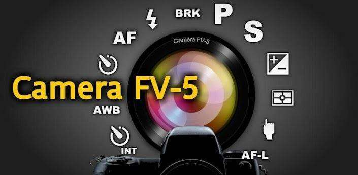Image result for Camera FV-5 APK