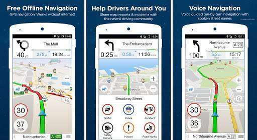 Navfree GPS World MOD APK for Android free download