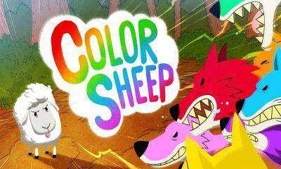 Farbe Schafe