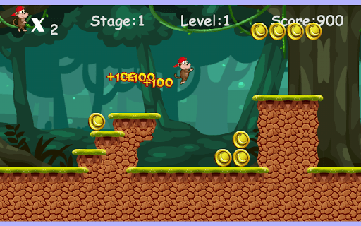 Jungle Monkey Run Free Download Android Game