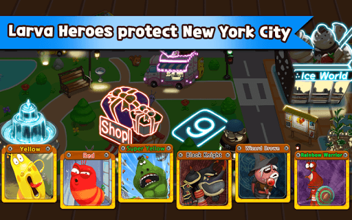 Larva Heroes: Lavengers 2014 Free Download Android Game