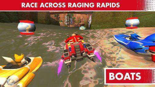 Sonic & All Stars Racing: Transformed Free Download Android Game