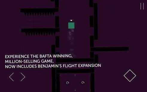 Thomas war allein Download Spiel für Android
