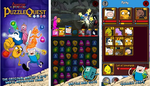 Adventure Time Puzzle Quest MOD + APK Game for Android