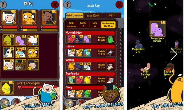 Adventure Time Puzzle Quest APK Android
