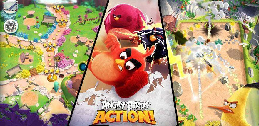 Angry Birds-Aktion!