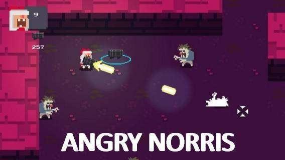 enojado Norris