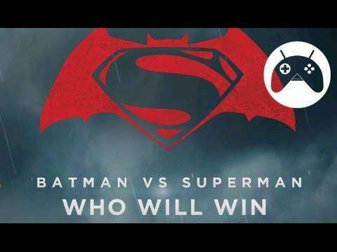 Batman Superman v ¿Quién ganará?