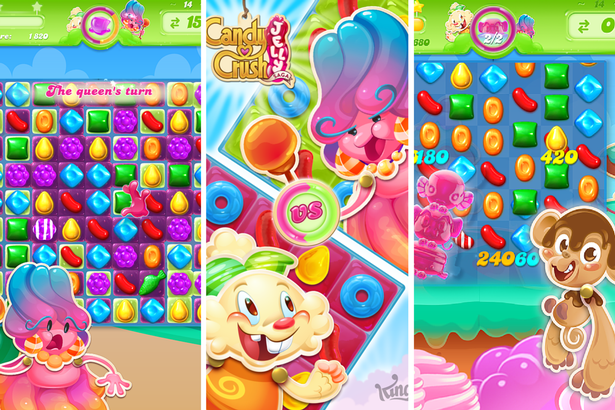 Bonbons Crush Jelly Saga