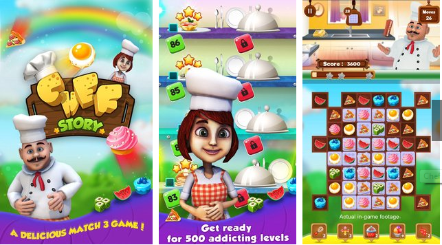 Chef Story Unlimited Money MOD APK Android Free Download