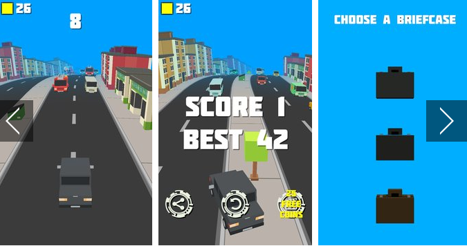 Crashy Road Endless Traffic APK Android