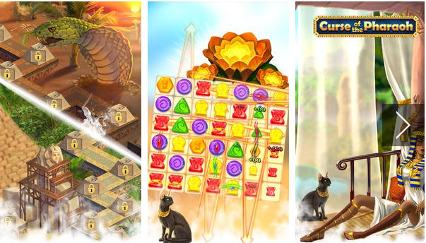 Curse of the Pharaoh Match 3 APK Android