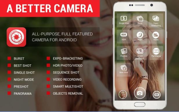 Eine bessere Kamera entsperrt