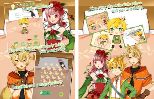 a girl and the  lttle prince APK Android