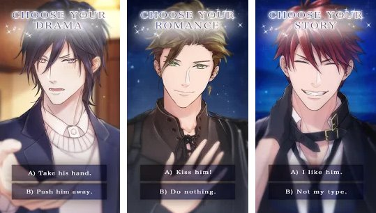 a kiss from death anime otome virtual boyfriend APK Android