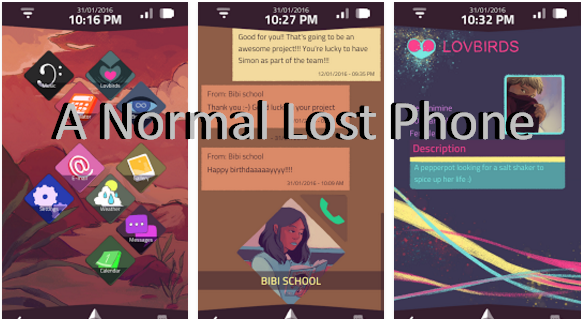 a normal lost phone game free