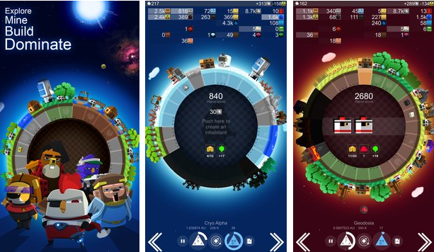 a planet of mine APK Android