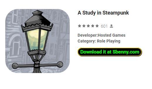 une étude en steampunk