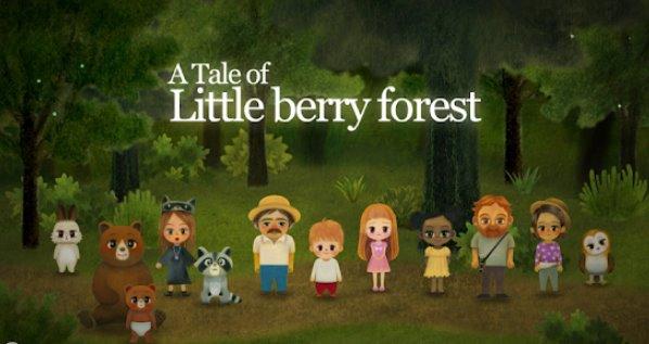 Сказка о маленькой ягодной лесной сказке