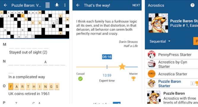 Akrostichon Kreuzworträtsel APK Android