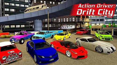 Aktion Fahrer Drift Stadt