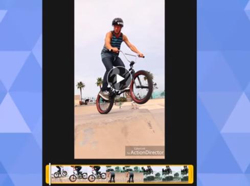 actiondirector video editor bearbeiten videos schnell APK Android