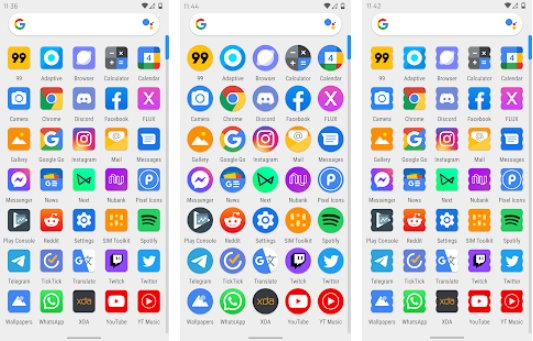 adaptive icon pack APK Android