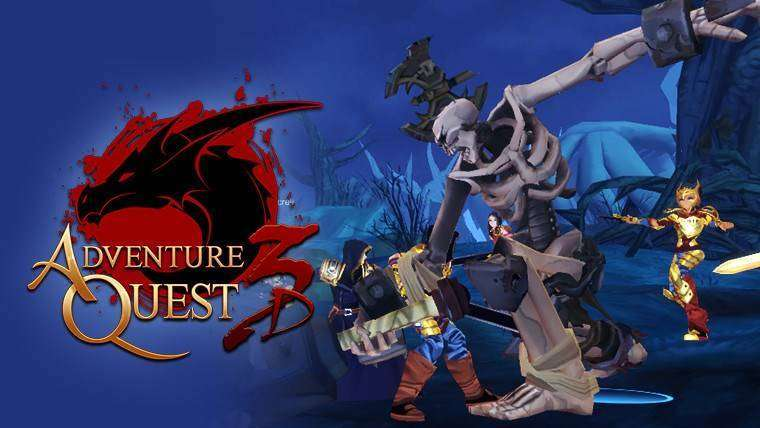 AdventureQuest 3D v1 0 0 - The First Exclusive MEGA MOD