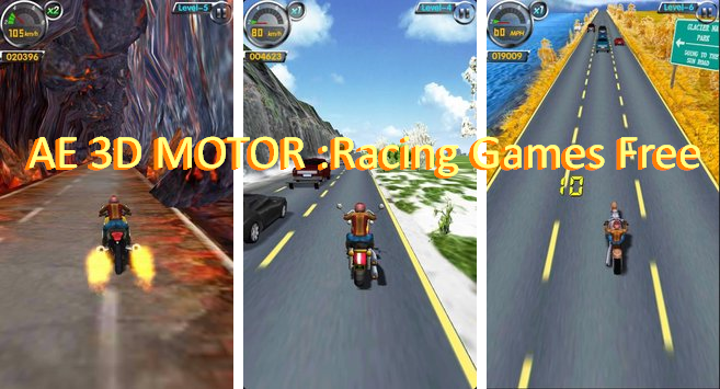 ae 3d motor racing games free