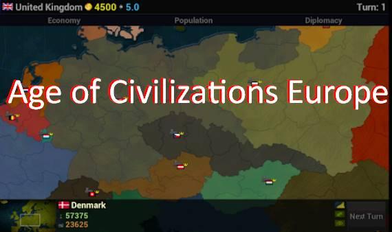 âge des civilisations europe