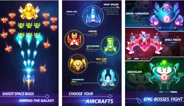 Luftangriff Galaxy Shooter APK Android
