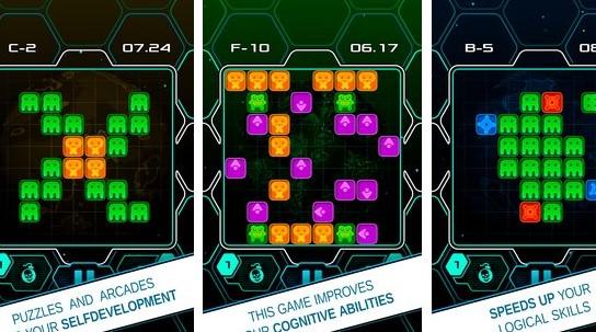 Alien-Steine ein logisches Puzzle und Arcade APK Android