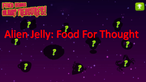 alien jelly food for thought