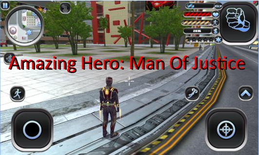 erstaunlich Held Mann der Gerechtigkeit