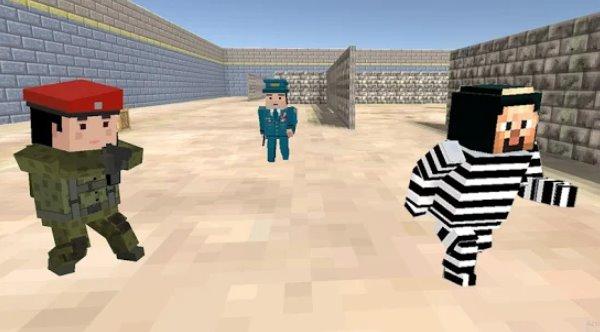 Amerikanisches Gefängnis Break Block Überleben Spiele APK Android