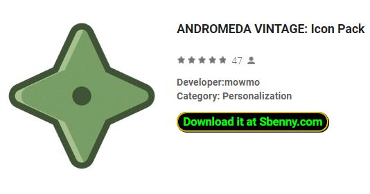 ANDROMEDA VINTAGE: Icon Pack APK Android Free Download