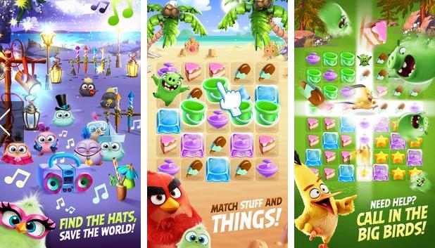 Les oiseaux en colère se partagent APK Android