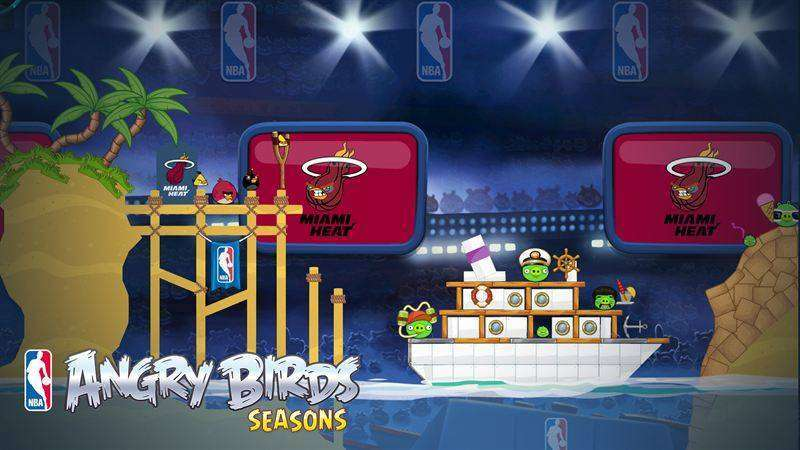 Angry Birds Seasons MOD APK Android Free Download