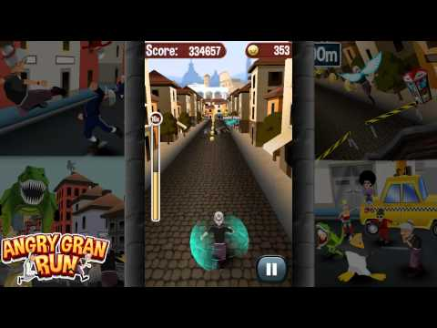 Angry Gran Run APK MOD Android Free Download