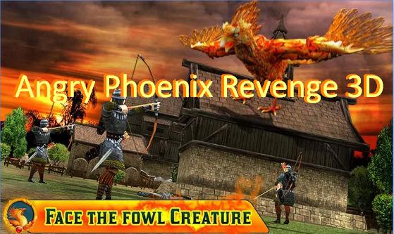 enojado venganza Phoenix 3d