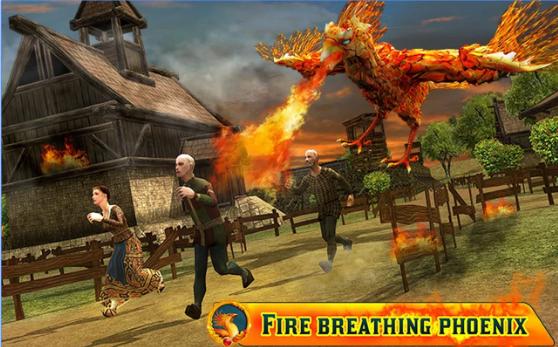 enojado Phoenix la venganza 3d APK Android