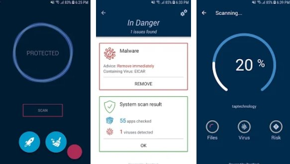 Antivirus Mobile - Cleaner, Phone Virus Scanner + MOD