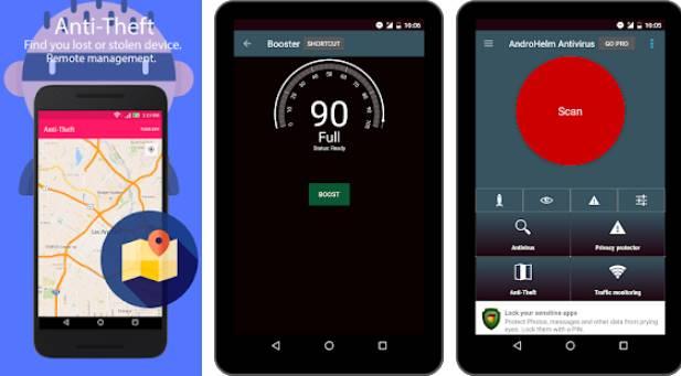 антивирусная безопасность 2018 APK Android