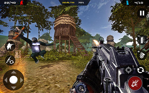 Affen Jäger Dschungel Überleben APK Android
