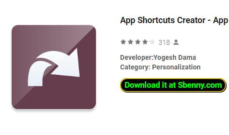 App Shortcuts Creator APK for Android Free Download