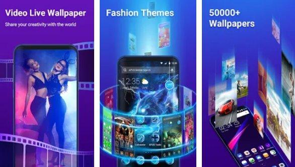apus launcher pro Theme Live-Wallpaper APK Android