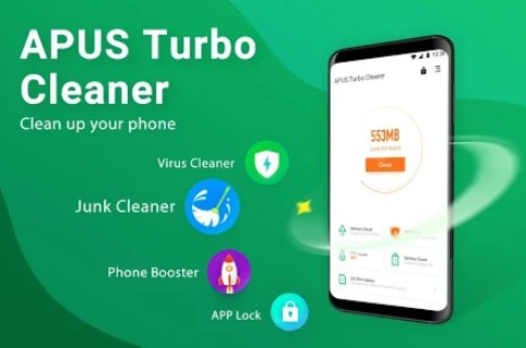 APUS Turbo Cleaner 2019 - Junk Cleaner, Anti-Virus + MOD