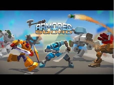 armored squad mechs vs robots