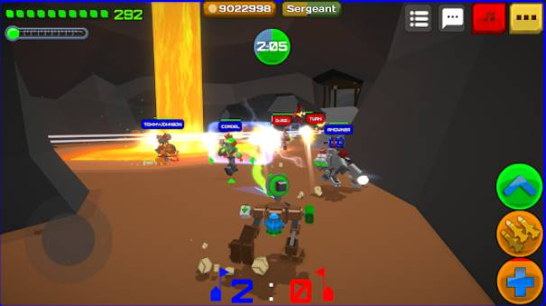 armored squad mechs vs robots APK Android