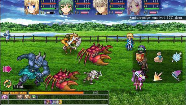 RPG Asdivine Cross MOD APK Android Free Download